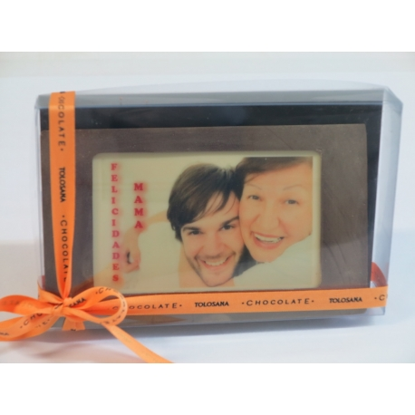 Fotografías personalizadas en chocolate