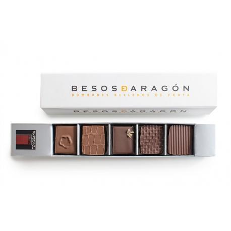 Caja de 5 Besos de Aragón