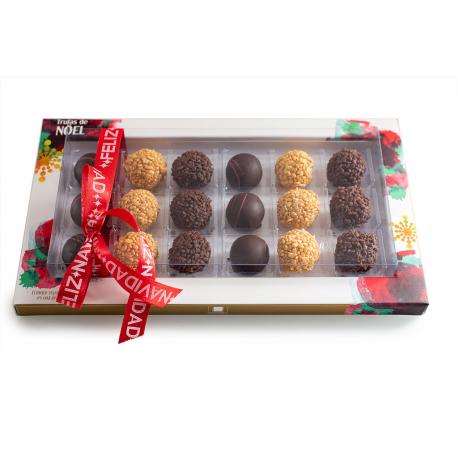 Caja Selección 18 Trufas de Noël