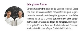 Luis y Javier Carcas