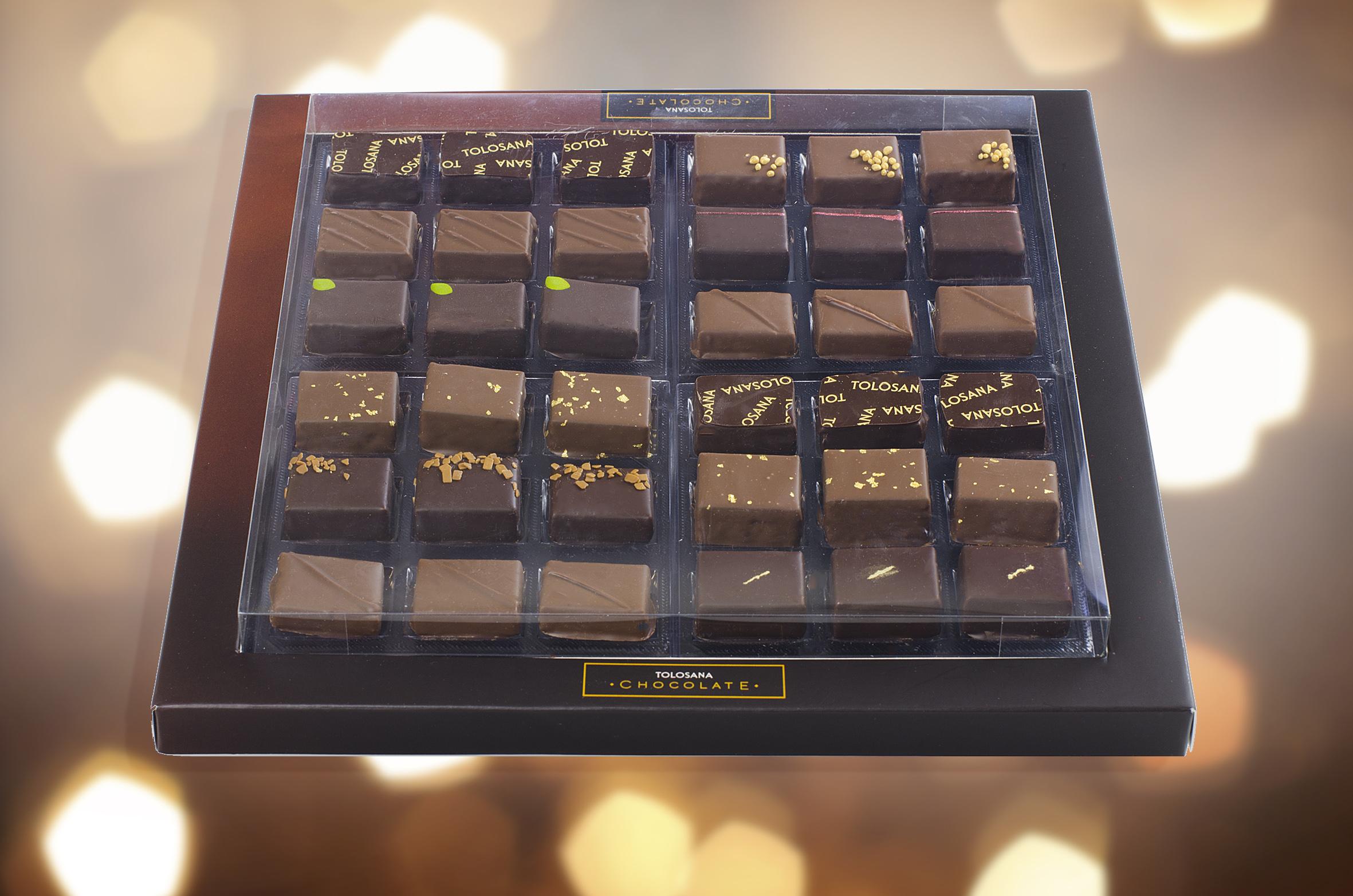 Caja Prestigio 36 bombones