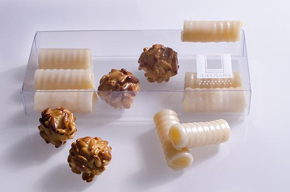 Caja 8 Huesos, 4 Panellets